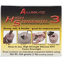 Alumilite - Liquido per stampi di gomma, rosa - 1 Lb Tin