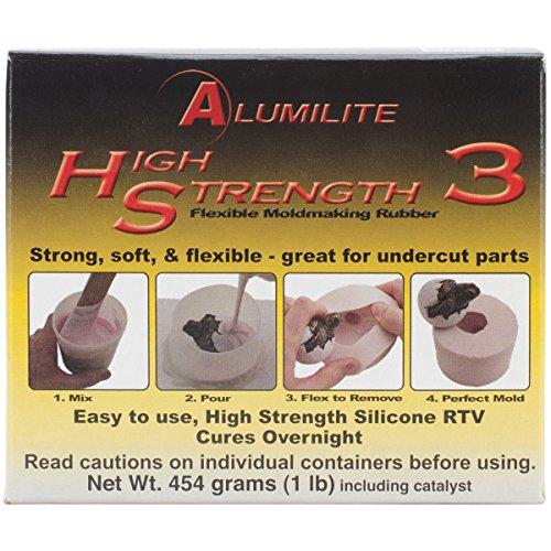Alumilite - Liquido per stampi di gomma, rosa
