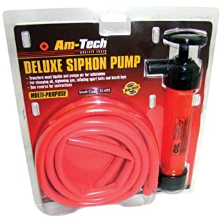 Cutting-Edge Am-Tech Deluxe Siphon Pump - (Eco Packaging)