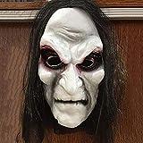 XKJFZ Zombie Mascherina di Orrore in Lattice Maschera Maschera Vestito Biochimica per la Festa in Costume Maschera Spaventosa