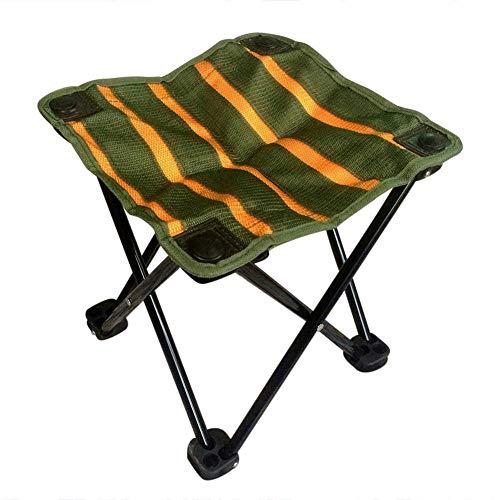 iYoung Klapphocker Portable Outdoor Slacker Stuhl für BBQ Camping Angeln Reise Wandern Garten Strand 600D Oxford Tuch -