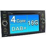 A-Sure 7 Zoll 2 Din DVD GPS Autoradio Android 5.1.1 für FORD FOCUS C/S-MAX KUGA GALAXY FIESTA FUSION DAB+ 3G OBD WIFI