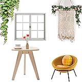 Honey Handgewebte Tapisserie, Wanddekoration aus Baumwollseil, böhmische Wanddekoration Wohnzimmer Küche Schlafzimmer Wohnung Gobelin beige