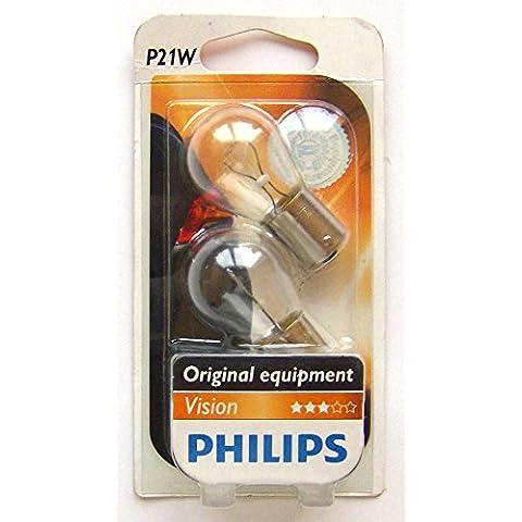 Philips Vision P21W 12V 21W 12498B2Indicatore lampadina (Coppia)