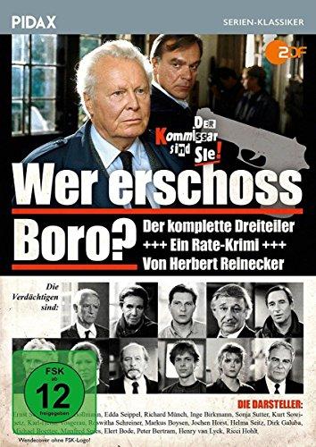Wer erschoss Boro? / Der komplette 3-teilige Rate-Krimi von Herbert Reinecker (Pidax Serien-Klassiker)
