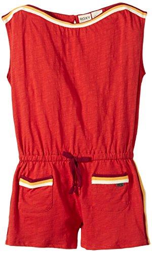 Roxy Mädchen Strickkleid Marine G KTDR, Rot-Red (Lava), M, ARGKD03028-NQA0