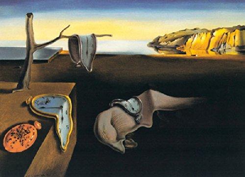 Inc. 1931The Persistence of Memory Salvador Dali Surrealismus Uhr Western Poster (Wählen Sie Größe von Drucken) 11x14 Print ()