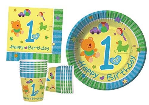 Ciao–Kit Party Tisch, mehrfarbig, L (30Personen), y4645 - Party Kit Geburtstag Supplies 30.