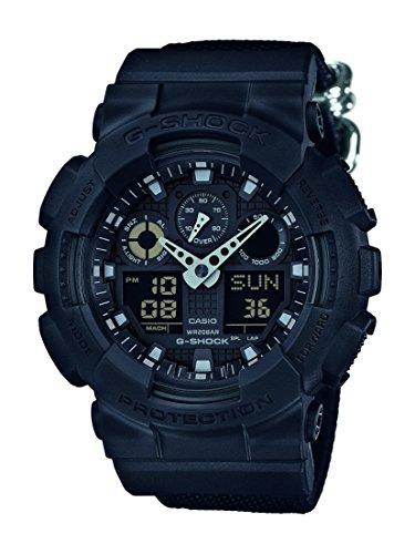 Casio G-Shock Herren-Armbanduhr GA100BBN1AER