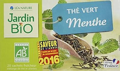 Jardin Bio Thé Vert Menthe 30 g - Lot de 4