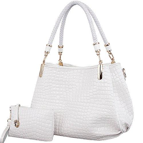 Icegrey ,  Damen Tasche Weiß