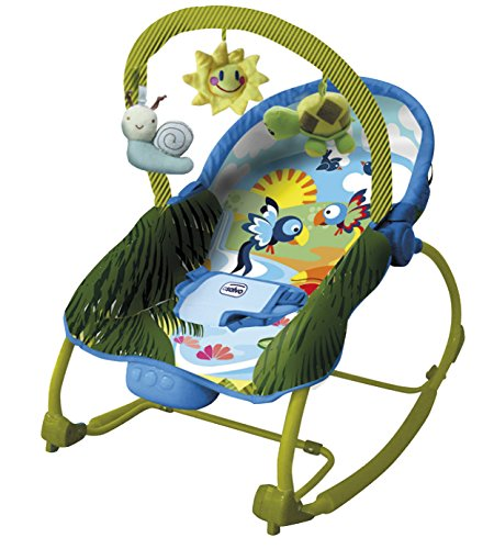 Asalvo Evolutiva - Hamaca para bebé, diseño Jungla, color verde