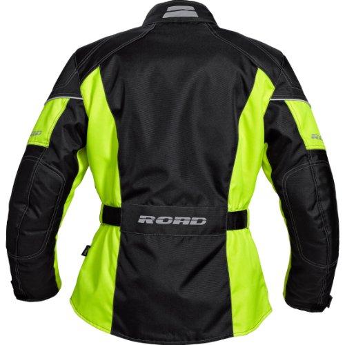 Motorradjacke Road Damen grau Protektorenjacke, Biker Jacke inklusive Protektoren - 2