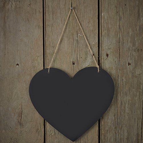 Brett hängen Rustikal Herzen Dekoration für Heim- oder Hochzeiten - Vintage Affäre (Tafel-hochzeits-zeichen)