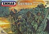 Unbekannt Emhar EM7203 - Figur - 1/72 WWI Deutsche Infanterieund Panzerbesatzung
