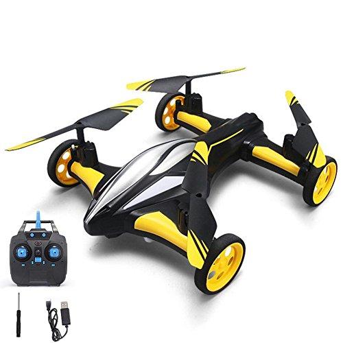 StageOnline JJRC Drone Air-Ground RC Quadcopter por Tierra & Aire Doble Modo Drone Coche Teledirigido De Control Remoto 6-Axis Gyro Juguetes para Niños