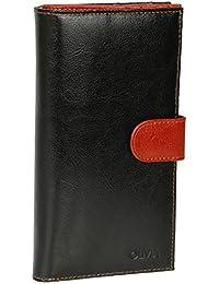 Olivia - Grand portefeuille femme cuir 11x19 cm - Compagnons tout-en-un