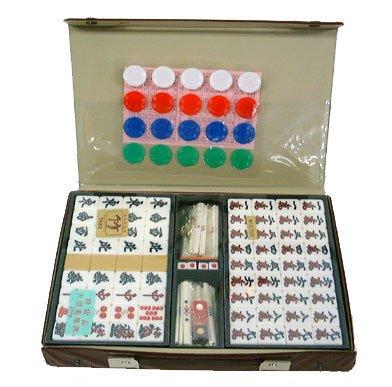 Marushin Industrie NorthwaySports Luxus Mahjong [Bambus] (Japan Import / Das Paket und das Handbuch werden in Japanisch)