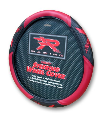 Red R Racing Steering Wheel Cover by Plasticolor