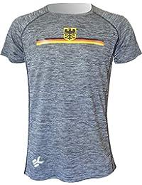 EKEKO SPORT Camiseta Alemania Modelo TEIDE, Camiseta Manga Corta, Running, Fitness, Crossfit