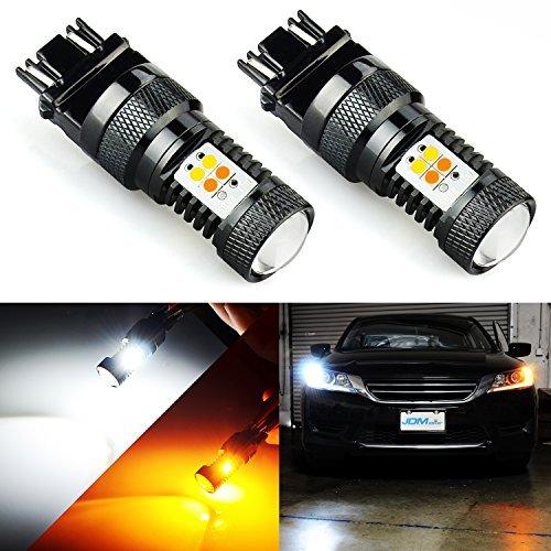 JDM ASTAR extremadamente brillante 3030chipsets blanco/amarillo 3157315534574157Switchback Bombillas LED con proyector para intermitente luces (más brillantes (bombilla en el mercado)