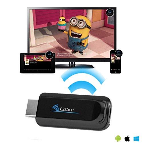Micromax X226+ Smartphone Wireless Media Streaming Gerät für HDMI auf Ihrem HDTV mit Miracast/DLNA/Wifi Unterstützung. [für: Android, iPhone, iPad, Mac, Windows, Chromebook], T1000 Plus