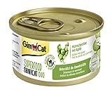 GimCat Katzennassfutter Superfood ShinyCat Duo Hühnchenfilet mit Äpfeln – Hochwertiges Katzenfutter ohne Zuckerzusatz mit hohem Fleischanteil – 24 Dosen (24 x 70g)