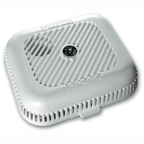 Ei Electronics Ei105H Smoke Detector NF Wireless with Test Button and Silence Function 9 V Battery Included 85 dB White