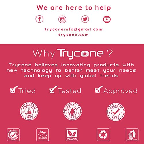 Trycone Moroccan Argan Oil Conditioner Enrich With Coffee Oil & Biotin Protein, 100% Natural Professional Series, 200 Ml