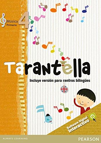 Tarantella 4 software digital interactivo (castellano / inglés) - 9788420558790