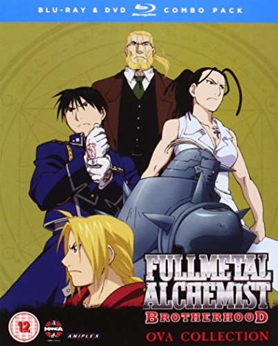 Fullmetal Alchemist Brotherhood 4 OVA Blu-ray/DVD Combi with Digital Comic [Reino Unido] [Blu-ray] 51WXat30CaL