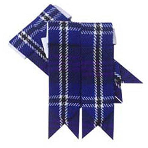 Herren Scottish Kilt Hose Socke Flashes Erwachsene Verschiedene Tartans (Heritage Of Scotland) -