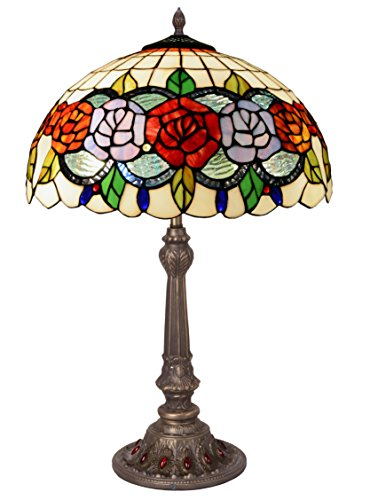 Lume da Tavolo Serie Rosy d.40cm Alto 60cm Multicolor