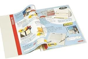 Esselte Pochette Perforée, Pour Catalogue, Transparent, Grainé, A4, PVC Souple 130 Microns, Lot de 5, 54902