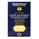 String Instrument Premium Microfiber Polishing Cloth for Violin, Viola, Cello & Bass
