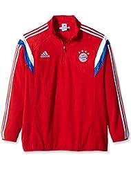 adidas Trainingsjacke FC Bayern Fleece - Chaqueta técnica para hombre, color rojo, talla XL