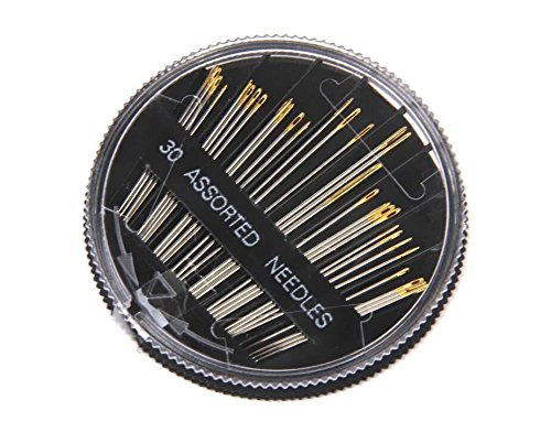 tykusm Nähnadeln Stickerei Reparatur Craft Quilt Disc Gold Schwanz Nadeln Fall