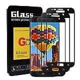 Supband [3 Stück] Panzerglas Schutzfolie für Galaxy S7, Panzerglasfolie für Galaxy S7 Transparent Ultra HD beständig Anti-Scratch Staub frei Blasen Display schutzfolie für Galaxy S7