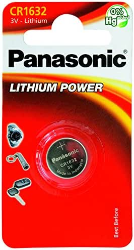 Panasonic CR-1632L/1BP Pile Bouton Lithium