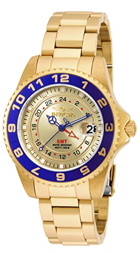 Invicta 18251 Pro Diver  Women's Wrist Watch Stainless Steel Quartz Champagne Dial