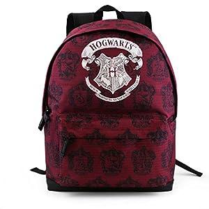 51WXgH0xiSL. SS300  - Karactermania Harry Potter Hogwarts Mochila Tipo Casual, 43 cm, 27 litros, Rojo