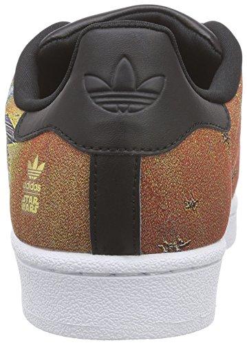 adidas Superstar Star Wars, Baskets Basses mixte enfant Multicolore - Mehrfarbig (Core Black/Core Black/Ftwr White)