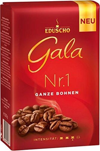 Eduscho- Gala Nr.1 Ganze Bohnen Kaffeebohnen - 500g