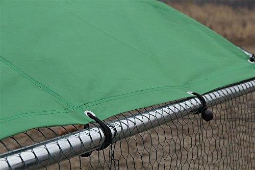 Bache pour Parc grillagé aluminium 2x4m