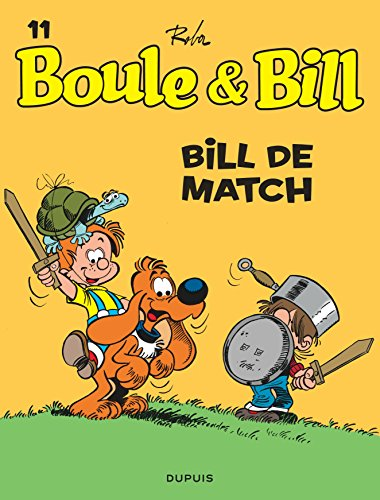 Boule et Bill, T11: Bill de match