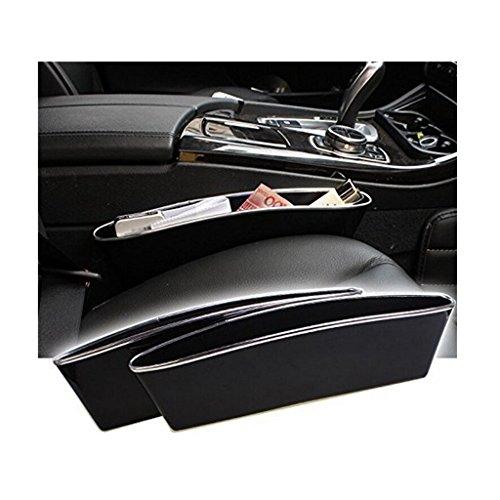 Ac.yc Car Seat Seiten-Schlitz-Taschen, Auto Catcher Organizer, füllt Lücken zwischen den Sitzen, um Artikel droping verhindern