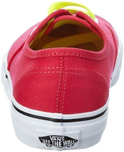 Vans Authentic VQER750, Baskets mode mixte adulte Rose (Pink)