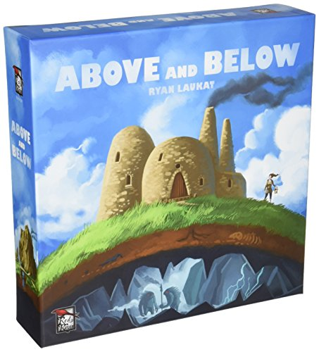 Red Raven Games 009RVM - Brettspiele, Above and Below - Nah Und Fern