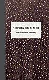 Stephan Balkenhol: Kat. Deichtorhallen Hamburg