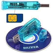 Best USB cellulare standard SIM Card Reader Copy Cloner WRITER backup SMS GSM/CDMA + CD 1-east ^.